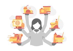 Free Outstanding Multitasking Vectors