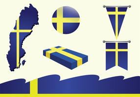 Sweden Vector Pack