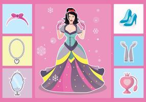 Princesa Element Vector