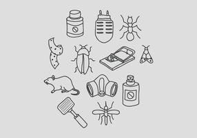 Pest Control and Bug Elimination Vectors