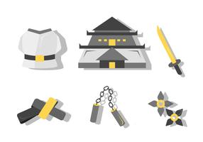 Free Unique Dojo Kit Vector