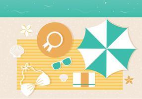 Free Vector Summer Illustration