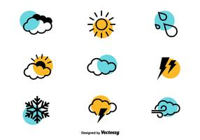 Weather Icons - Vector Set