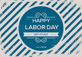 Old Retro Labor Day Background