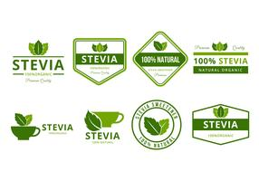 Free Stevia Logo and Badges Vector