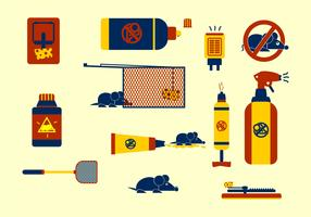 Vector Exterminator Icons