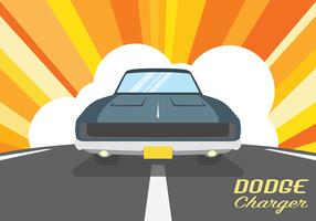 Dodge Charger Vector Background