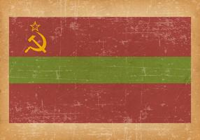 Grunge Flag of Transnistria