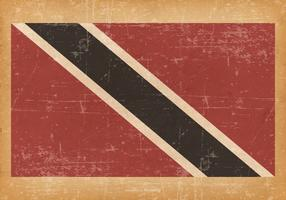 Grunge Flag of Trinidad and Tobago