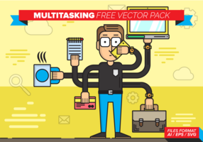 Multitasking Free Vector Pack