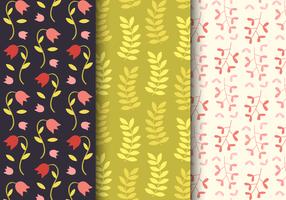 Free Spring Floral Pattern