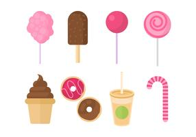 Free Sweet and Candy Vector Collection