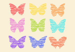 Free Colorful Butterflies