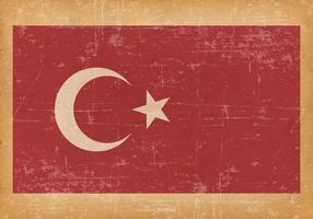 Grunge Flag of Turkey