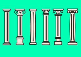Corinthian Icon Vector