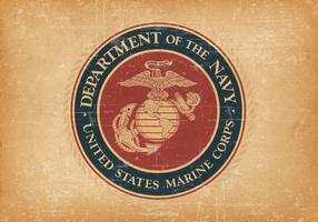 Grunge Style USMC Background