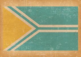 Old Grunge Flag of Tuva