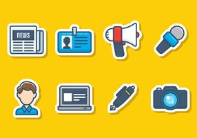 Journalism Icon Set
