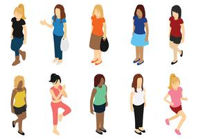 Woman Vector Icons