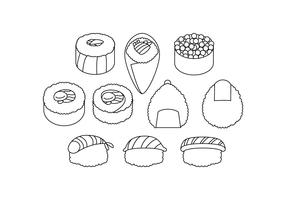 Free Japanese Food Icon Vector