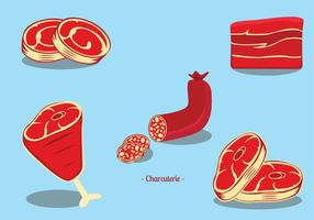Charcuterie Boucherie Vector Pack
