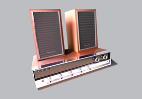 Old Stereo Vector