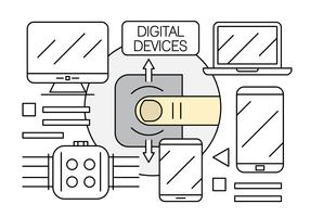 Free Linear Electronics and Digital Devices