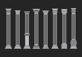 Various Corinthian Set Free Vector
