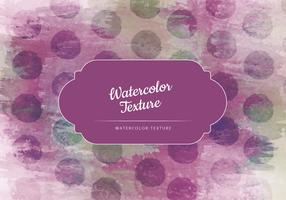 Vector Watercolor Dotted Texture
