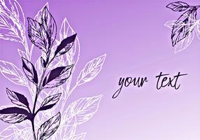 Purple Romantic Background Design