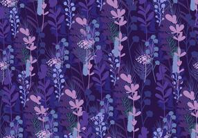 Seamless Pattern Of Bluebonnet