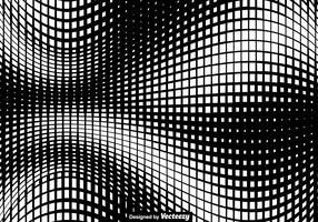 Vector Squared Halftone Texture