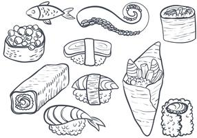 Free Sushi 2 Vectors