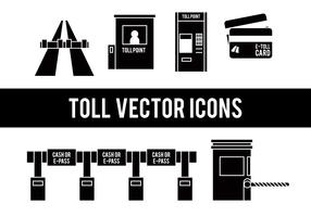 Toll vector icons