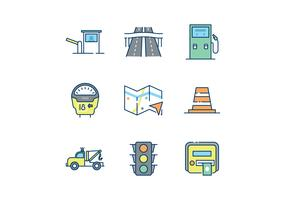 Free Road Traffic Icons
