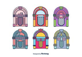 Jukebox Vector Set