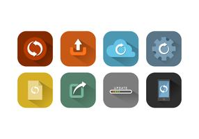 Free Update Icon Vector Collection
