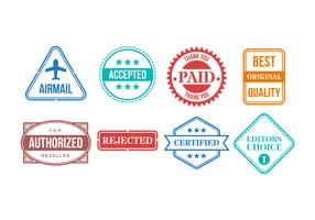 Free Cachet Vector Collection