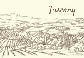 Free Hand Drawn Tuscany Vectors