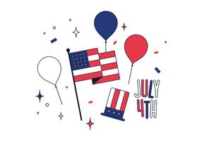 Free 4th Of July Vector