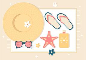 Free Summer Vacation Background
