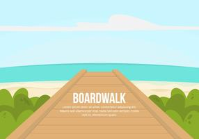 Boardwalk Illustration