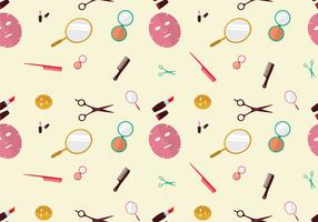 Beauty Clinic Pattern Free Vector
