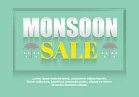 Monsoon sale poster