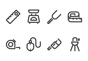 Measuring Tool Line Icon