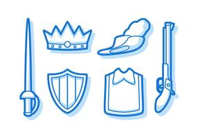 Free Outstanding Musketeer Vectors