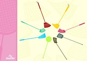 Plastic Fly Swatter Free Vector