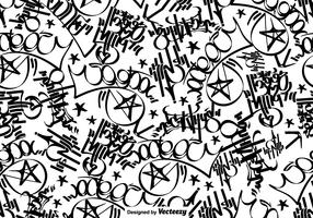 Vector Graffiti Tags Seamless Pattern