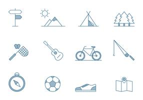 Outdoor Activities Icons