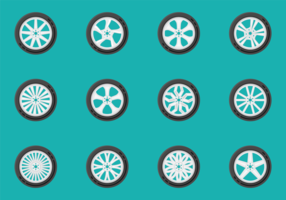 Alloy Wheels Vectors